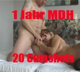 1 Jahr MDH SPEZIALCLIP - 20 CUMSHOTS -