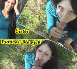 1. Outdoor Blowjob