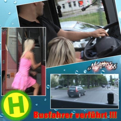 DREIST ! Öffentlicher Bus ! FAHRER verführt !