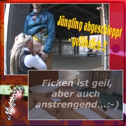 Jüngling abgeschleppt - GEFÄHRLICH !