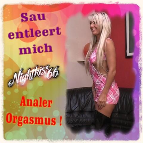 Analer Orgasmus - Drecksau entleert mich !!!