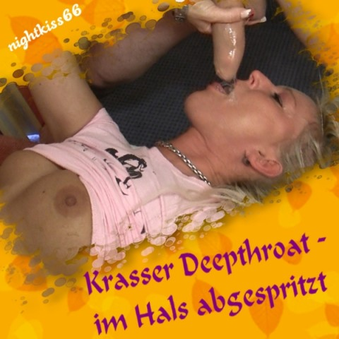Deepthroathing - im Hals abgespritzt !