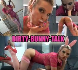 DIRTY-BUNNY-TALK Ich saug deine Eier leer