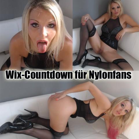 Wix-Countdown für Nylonfans