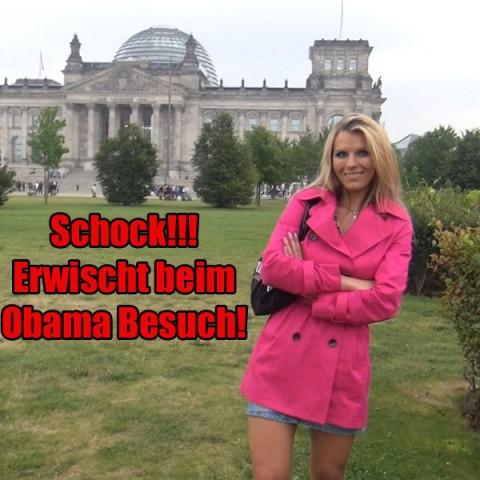 SCHOCK!!! Erwischt beim Obama Besuch!