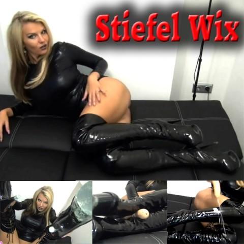 Stiefel Wix - Latexdomina will deine Sahne!