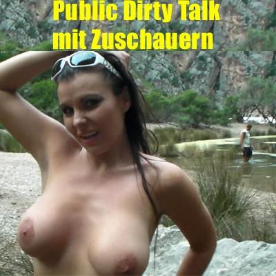 Public Dirty Talk mit Zuschauern