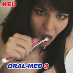 ORAL MED 3 - mit Sperma Zähne putzen