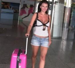 Am Flughafen von Palma de Mallorca....