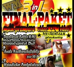 WM WETTEINSATZ!!  3 in1 LUCY´S FINAL-PAKET!