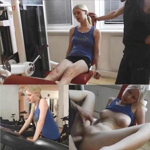 Workout extrem- Vom Fitnesstrainer gefickt!
