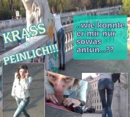 PEINLICH – Public die Jeans vollgepisst!
