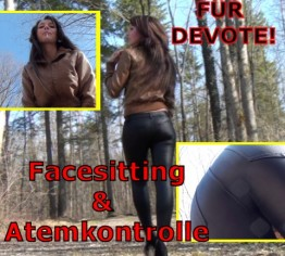 Für Devote! Facesitting & Atemkontrolle