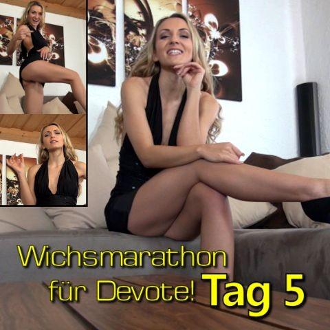 Wichsmarathon für Devote!! Tag 5
