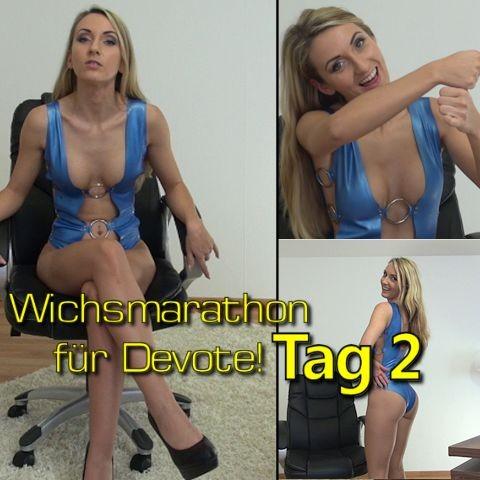 Wichsmarathon für Devote!! Tag 2