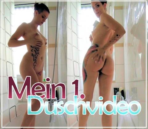 Mein 1. Duschvideo