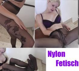 Nylon Fetisch - Spritzcountdown