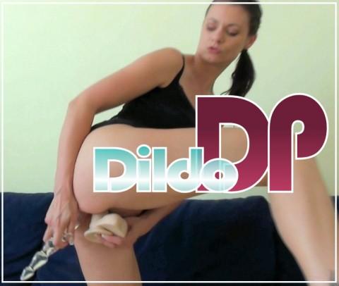 DP mit meinen Dildos gefickt