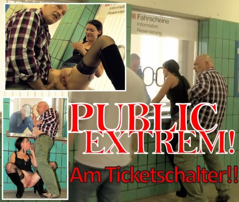 PUBLIC EXTREM - am Ticketschalter!!