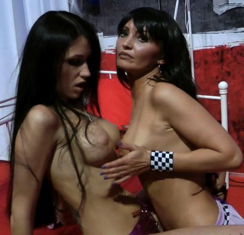 Public Venus Lesbenshow mit Blasi23