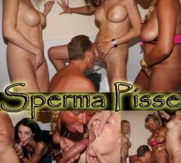 Spermageile Piss Schlampen 4er