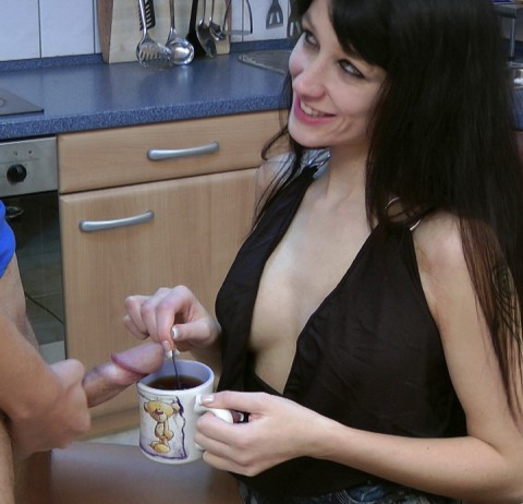 Sperma Kaffee
