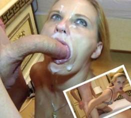 2 Wochen Sperma gespart für Judith