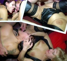 Rita und Cony: FFM-Pussy to Mouth (AO)