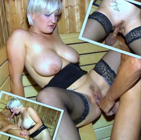 Sauna-Sex mit Heidi Hills