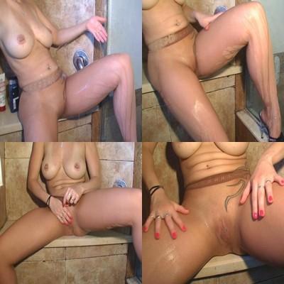 FSH Fetisch unter der Dusche