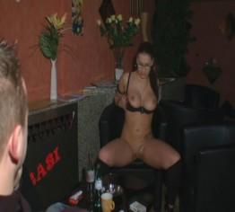 Privatshow im Club