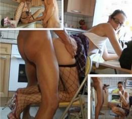 Sidney. In der Küche abgefickt