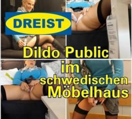 DREIST- Dildo Public im schwedischen Möbelhaus