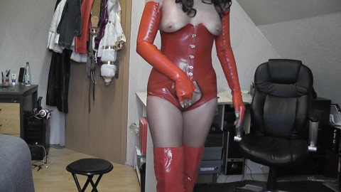 in rotem Latex