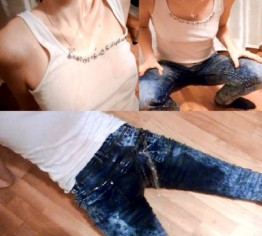 mein erster Jeans-Piss überhaupt (User-Wunsch)