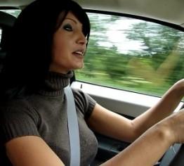 Saugeil! Public! Beifahrer (Arbeitskollege) Abge