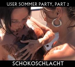 Sommer User Party part 2 (Schokoschlacht)