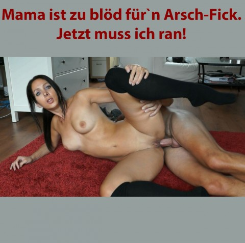 ficke mama deutsch arsch