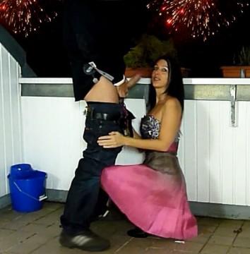 Fremdfick auf der Sylvester-Party 2012/13