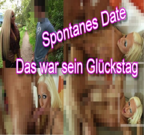 Spontanes Date - Das war sein Glückstag!
