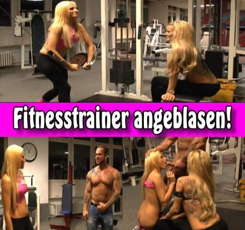 Fitnesstrainer angeblasen!