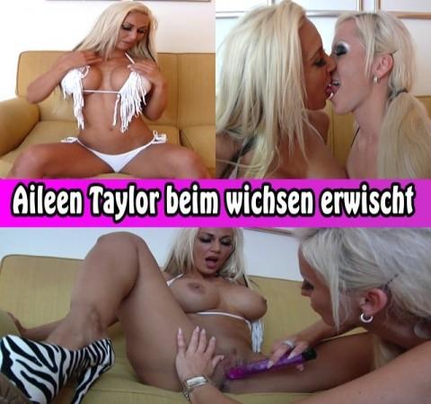 Aileen Taylor beim wichsen erwischt