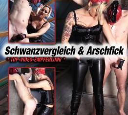 GEILES VIDEO: Schwanzvergleich und Arschfick!