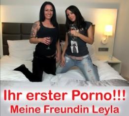 Ihr erster Porno!! Leyla bekommt Fick-Einweisung