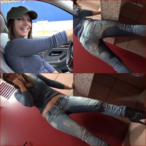 Peinlich ! - JeansPISS im Möbelhaus