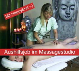 AUSHILFSJOB IM MASSAGESTUDIO | MIT HAPPY END :-)