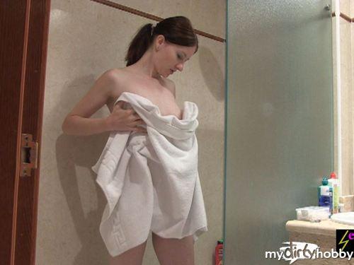 Unter der Dusche auf Teneriffa