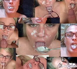 Sperma Swallow und Schlucken!!!