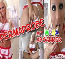 Spermaprobe mit MEGA Absahner