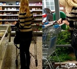 Im Supermarkt heimlich gefilmt und abgeschleppt!!